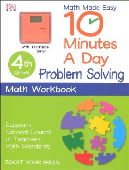 10 Minutes a Day: Problem Solving Math Fourth Grade
