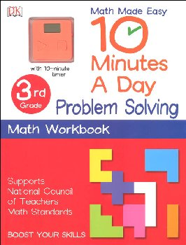 10 Minutes a Day: Problem Solving Math Third Grade