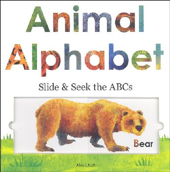 Animal Alphabet Slide & Seek ABC's Brd Bk LRG