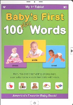 Baby's First 100+ Words (My 1st Tablet)
