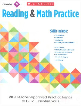 Reading and Math Practice Grade 6
