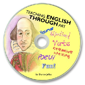 Teaching English Through Art CD