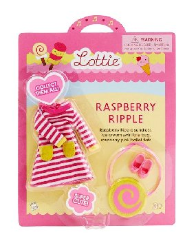 Raspberry Ripple Lottie Outfit