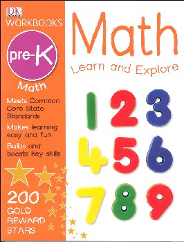 DK Workbooks: Math: Learn and Explore Grade Pre-K