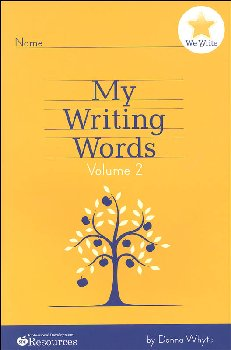 My Writing Words Volume 2