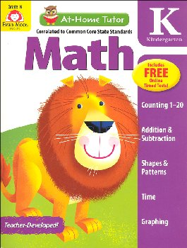 At-Home Tutor: Math - Grade K