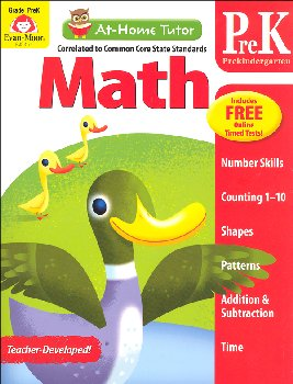 At-Home Tutor: Math - Grade PreK