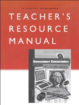 Consumer Economics and Personal Finance Teacher's Resource Manual (Nextext Coursebook)