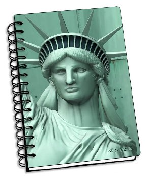 "Liberty 3D Notebook 4"" x 6"""