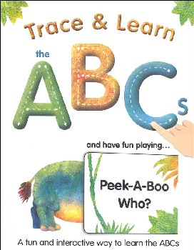Trace & Learn the ABCs & Have Fun Playing...