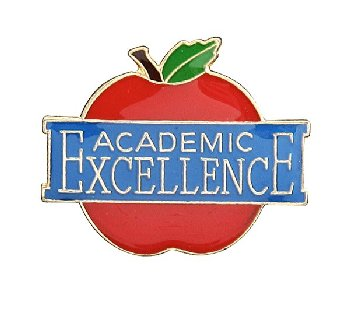 Academic Excellence Lapel Pin