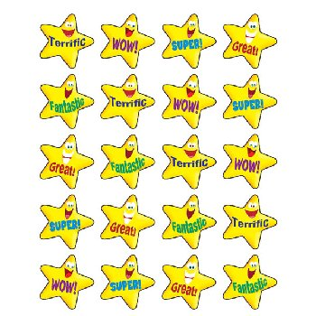 Encouraging Stars Stickers (120 per pack)