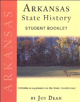 Arkansas State History from a Christian Perspective Student Book only