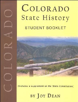 Colorado State History from a Christian Perspective Student Book only