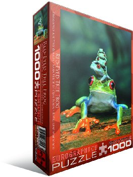 Red-Eyed Tree Frog Puzzle - 1000 pieces