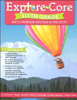 Explore the Core: Sixth Grade Math Problem Solving & Projects