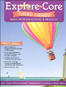 Explore the Core: Third Grade Math Problem Solving & Projects
