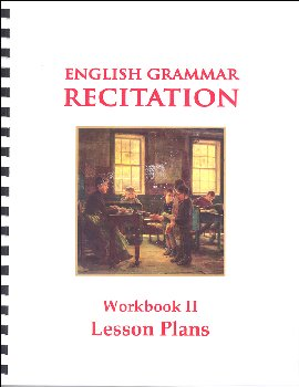 English Grammar Recitation II Lesson Plans