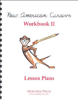 New American Cursive Penmanship Program 2 Lesson Plans