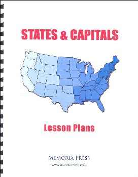 States and Capitals Lesson Plans