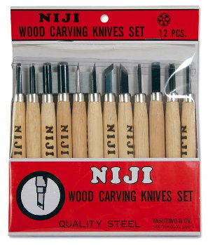 Wood Carving Set (12 piece) Niji