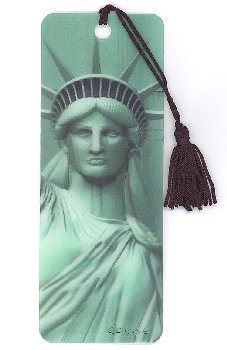 Liberty 3D Bookmark