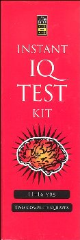 Instant IQ Test Kit - Jr. Edition