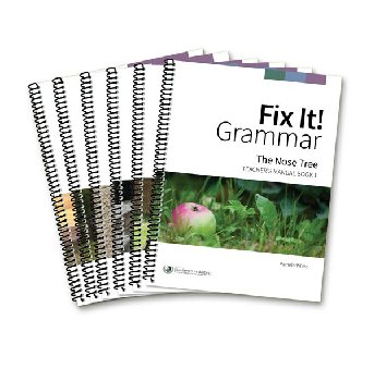 Fix It! Complete Grammar Package (All 6 Teacher Manuals)