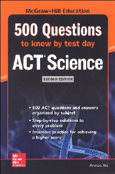 500 ACT Science Questions to Know by Test 2ED