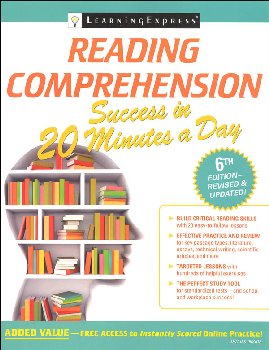 Reading Comprehension Success in 20 Minutes a Day (6th Edition)