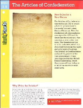 Articles of Confederation FlashChart