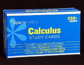 Calculus SparkNotes Study Cards