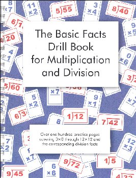 Basic Facts Drill Book for Multiplication and Division (reproducible)