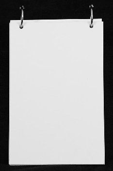 "Bare Blank White Flash Cards - 4"" x 6"" (pack of 25)"