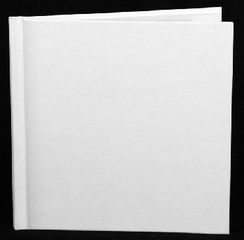 "Square Blank Bare Book - 6"" x 6"" (28 pages)"