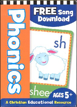 Christian Phonics Flash Cards