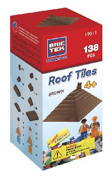 Brictek Roof Tiles - Brown (138 Pieces)