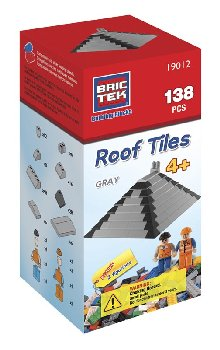 Brictek Roof Tiles - Grey (138 Pieces)