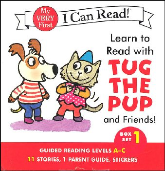 Learn to Read with Tug the Pup and Friends! Box Set 1(My Very First I Can Read)