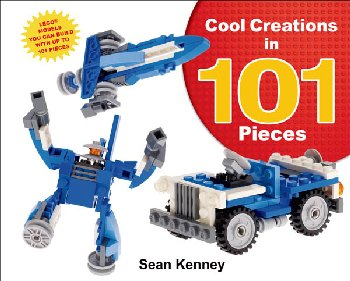 Cool Creations in 101 Pieces Lego Book II