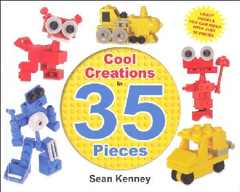 Cool Creations in 35 Pieces Lego Book