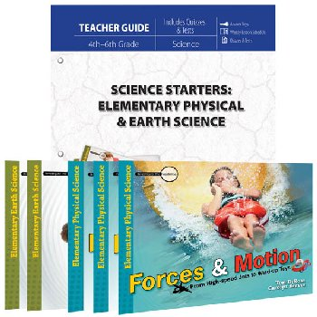 Science Starters: Elementary Physical & Earth Science Package