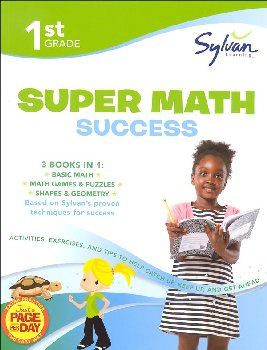 Sylvan Learning Super Math Success - 1st Grade