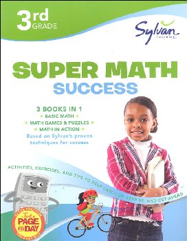 Sylvan Learning Super Math Success - 3rd Grade