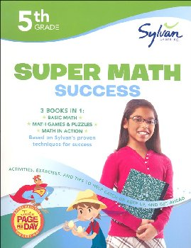 Sylvan Learning Super Math Success - 5th Grade