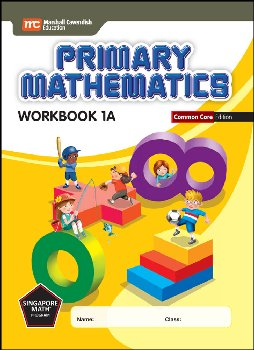 Primary Mathematics Common Core Edition Workbook 1A