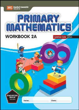 Primary Mathematics Common Core Edition Workbook 2A