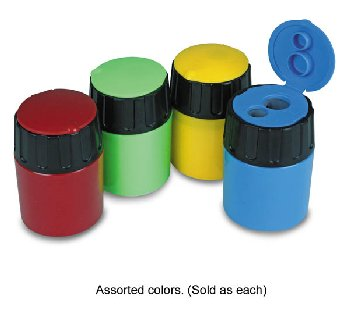 Eisen 2-Hole Canister Sharpener with Lid - Assorted Color