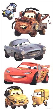 Cars Decals (1 sheet)