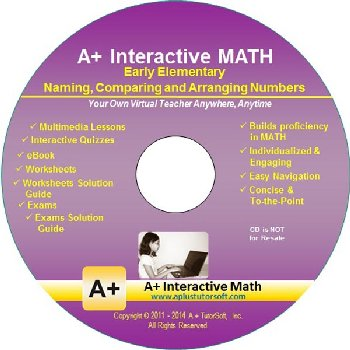 Naming, Comparing & Arranging Numbers Math CD-ROM (Supplemental Software)